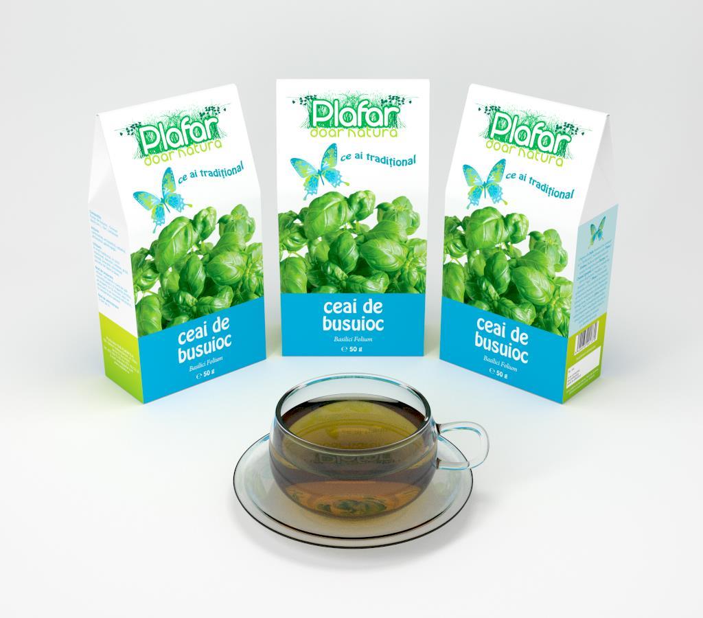 Ceai de busuioc preparare